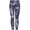 Craft Pure Print Spodnie do biegania Kobiety szary/czarny